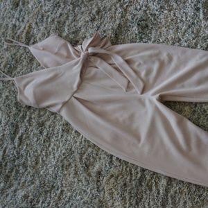 Cream jumper/jumpsuit